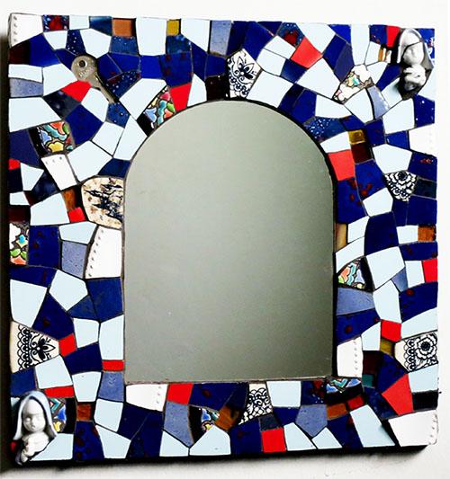 Espejos mosaicos conjunto espejos mosaico conjunto for Conjunto espejos redondos